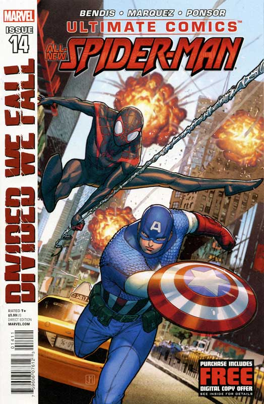 Ultimate Comics - Spider-Man 14 - Divided We septembre Part Two