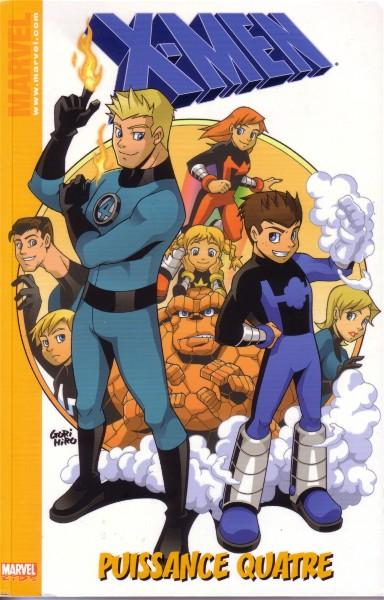 X-Men 2 - marvel kids - x-men : puissance 4