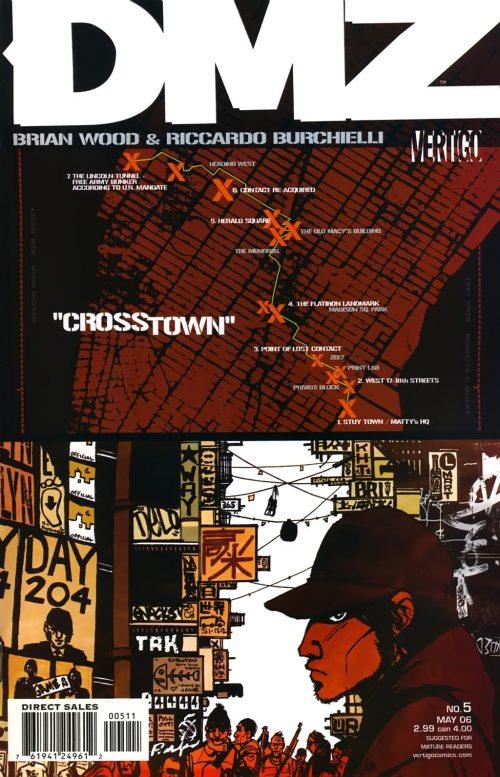 DMZ 5 - Crosstown