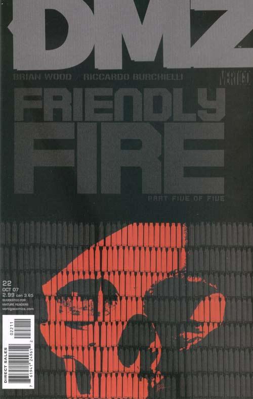 DMZ 22 - Friendly Fire, Part 5