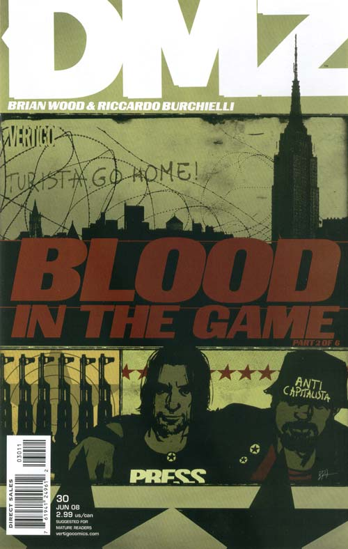 DMZ 30 - Blood in the Game, Part 2