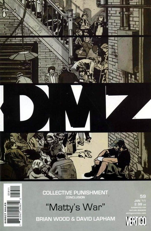 DMZ 59 - Collective Punishment: Matty's War