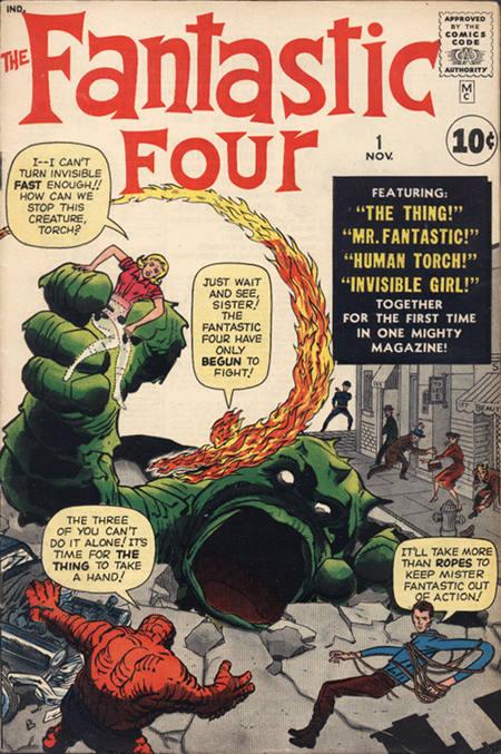 Fantastic Four 1 - The Fantastic Four!