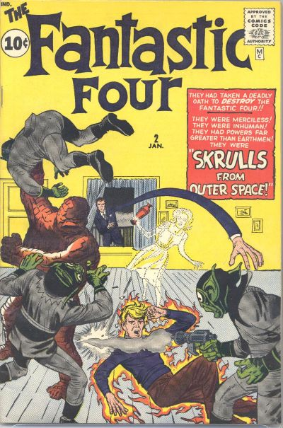 Fantastic Four 2 - The Fantastic Four Meet the Skrulls from Outer Space!