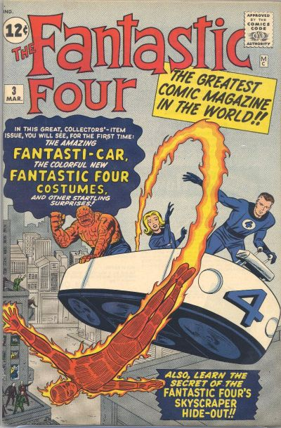 Fantastic Four 3 - The Menace of the Miracle Man