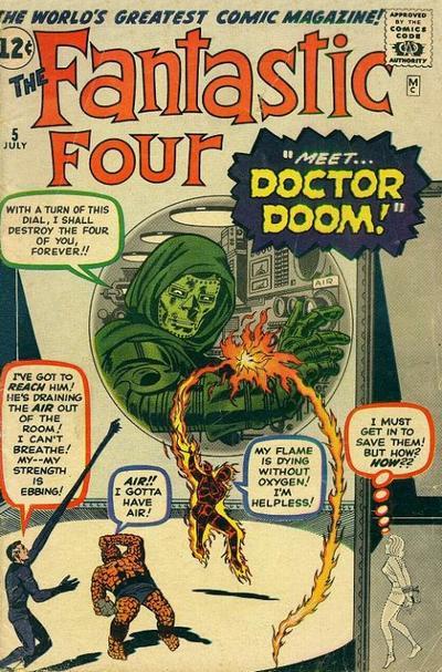 Fantastic Four 5 - Prisoners of Doctor Doom!