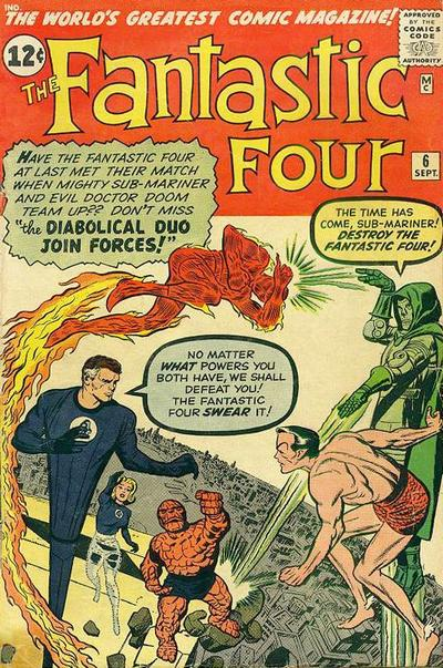 Fantastic Four 6 - Captives of the Deadly Duo!