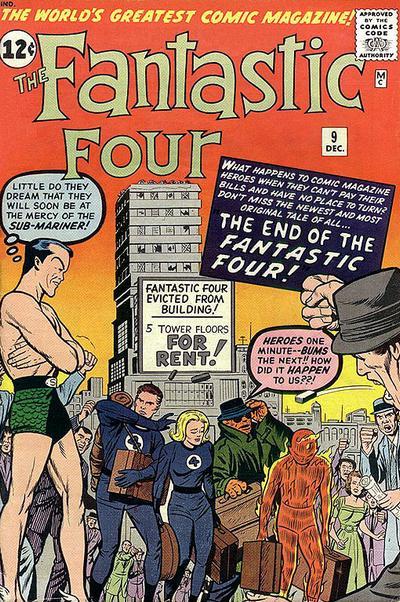 Fantastic Four 9 - The End of the Fantastic Four !