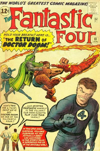 Fantastic Four 10 - The Return of Doctor Doom!