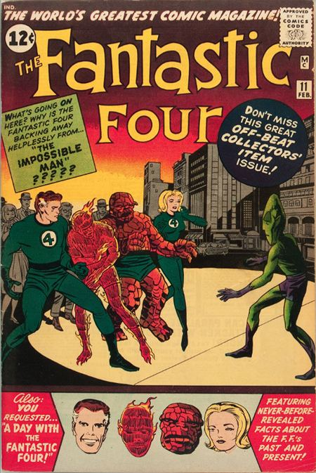 Fantastic Four 11 - A Visit With The Fantastic Four