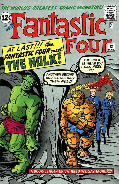 Fantastic Four 12 - The Incredible Hulk