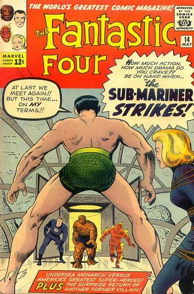 Fantastic Four 14 - The Merciless Puppet Master