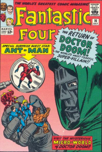 Fantastic Four 16 - The Micro-World of Doctor Doom !