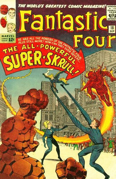 Fantastic Four 18 - A Skrull Walks Among Us !