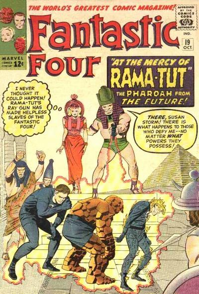 Fantastic Four 19 - Prisoners of the Pharoah !