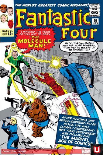 Fantastic Four 20 - The Mysterious Molecule Man !