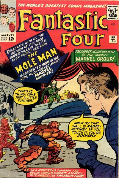 Fantastic Four 22 - The Return of the Mole Man !