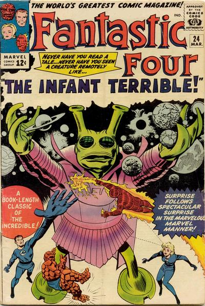 Fantastic Four 24 - The Infant Terrible !