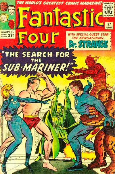 Fantastic Four 27 - The Search for the Sub-Mariner