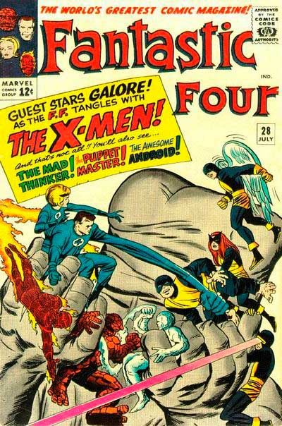 Fantastic Four 28 - We Have to Fight the X-Men !