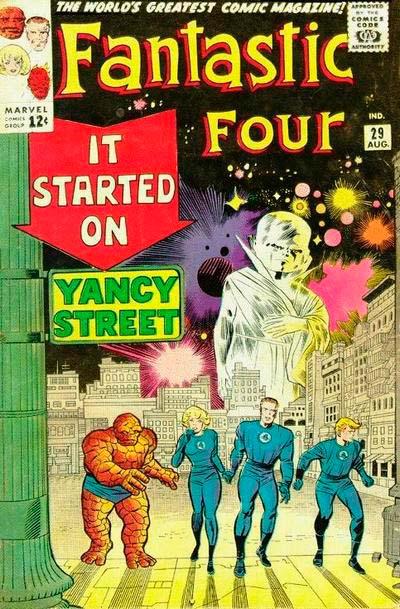 Fantastic Four 29 - It Started on Yancy Street !