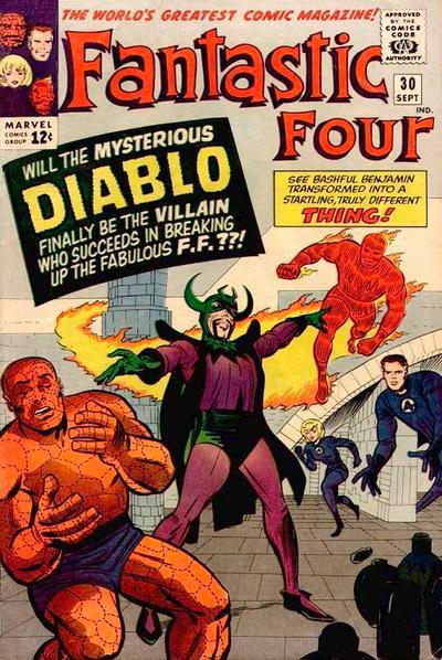 Fantastic Four 30 - The Dreaded Diablo !
