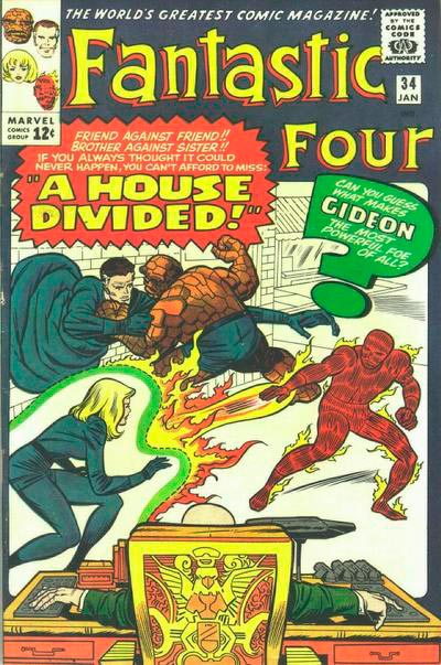 Fantastic Four 34 - A House Divided !