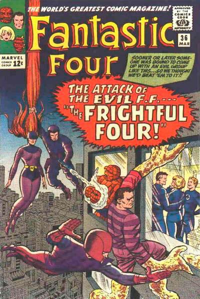 Fantastic Four 36 - The Frightful Four !