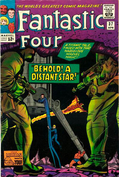 Fantastic Four 37 - Behold! A Distant Star !
