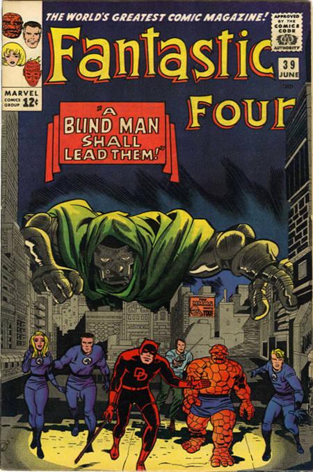 Fantastic Four 39 - A Blind Man Shall Lead Them !