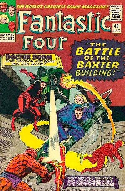 Fantastic Four 40 - The Battle of the Baxter Building