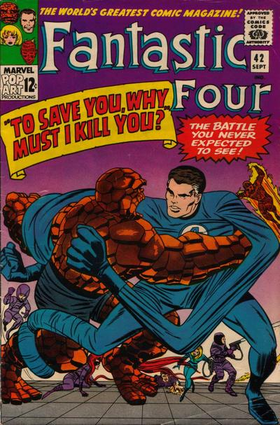 Fantastic Four 42 - To Save You, Why Must I Kill You ?