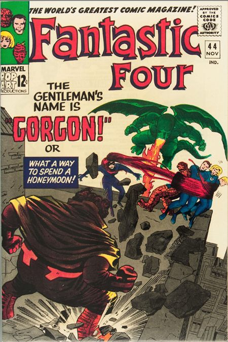 Fantastic Four 44 - The Gentleman's Name is Gorgon !