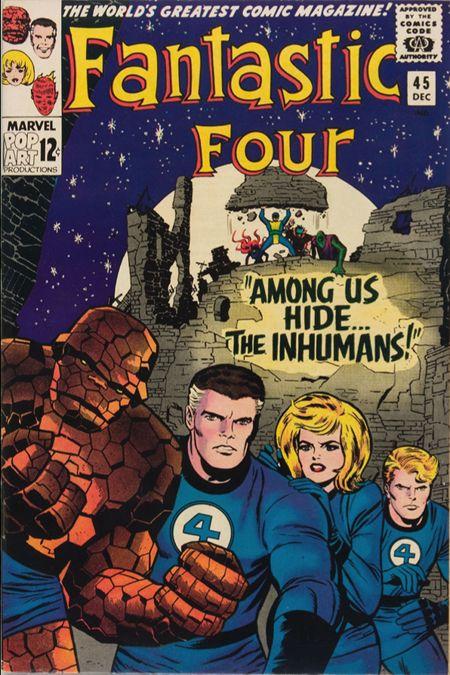 Fantastic Four 45 - Among Us Hide... The Inhumans !