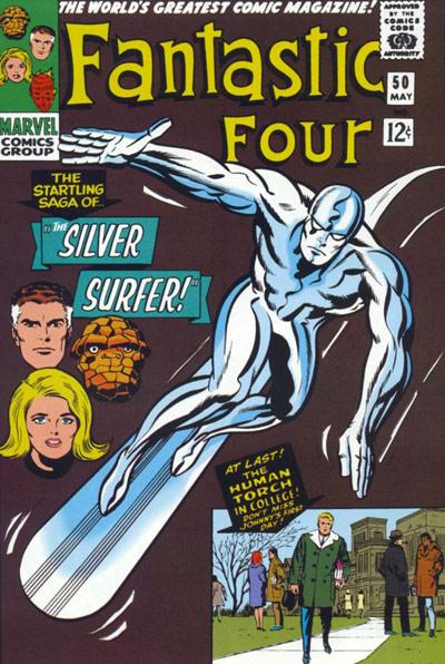 Fantastic Four 50 - The Startling Saga of the Silver Surfer !
