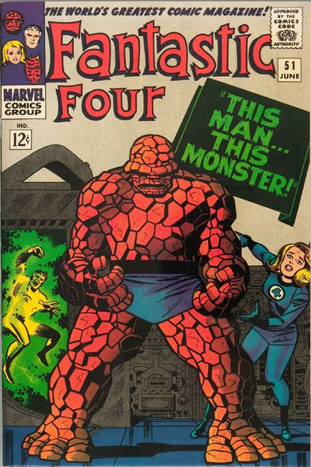 Fantastic Four 51 - This Man... This Monster !