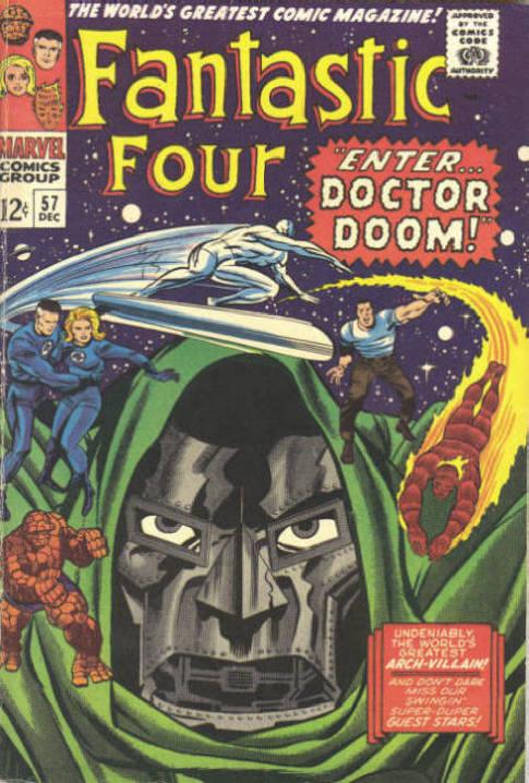 Fantastic Four 57 - Enter... Dr. Doom !