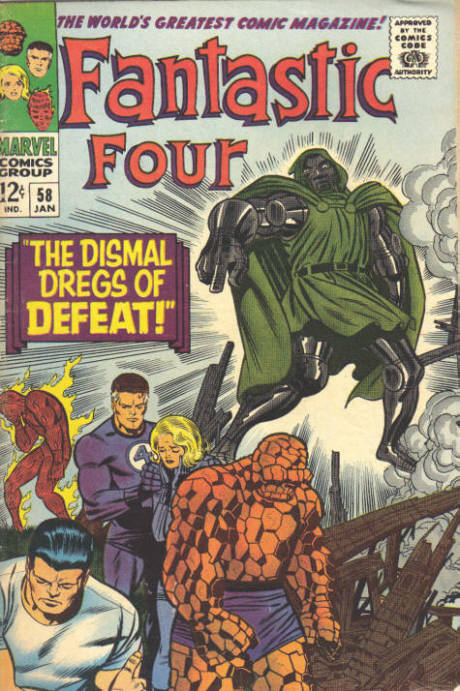 Fantastic Four 58 - The Dismal Dregs Of Defeat !