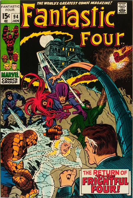 Fantastic Four 94 - The Return of the Frightful Four !