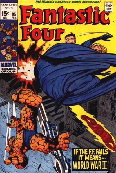 Fantastic Four 95 - Tomorrow-- World War Three!