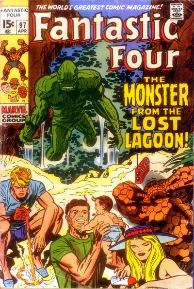 Fantastic Four 97 - The Monster From the Lost Lagoon !
