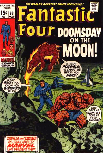 Fantastic Four 98 - Mystery on the Moon !