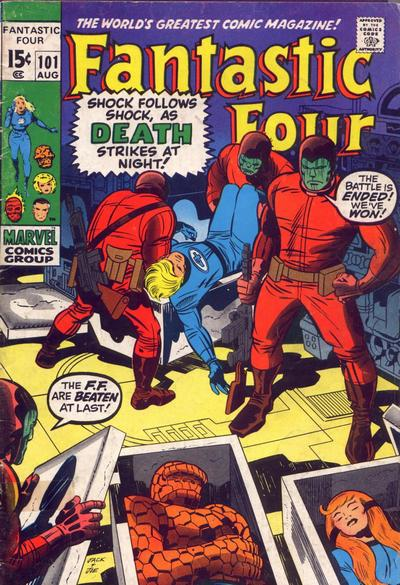 Fantastic Four 101 - Bedlam in the Baxter Building!