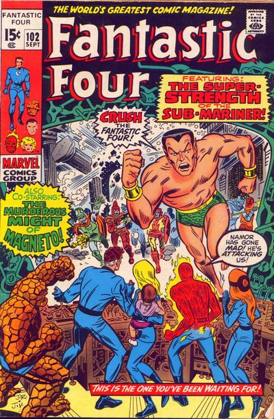 Fantastic Four 102 - The Strength of the Sub-Mariner