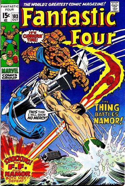 Fantastic Four 103 - At War With Atlantis !