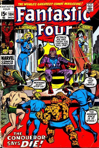 Fantastic Four 104 - Our World -- Enslaved!