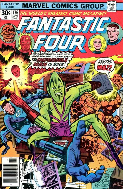 Fantastic Four 176 - Improbable as it May Seem -- the Impossible Man is Back in Town !