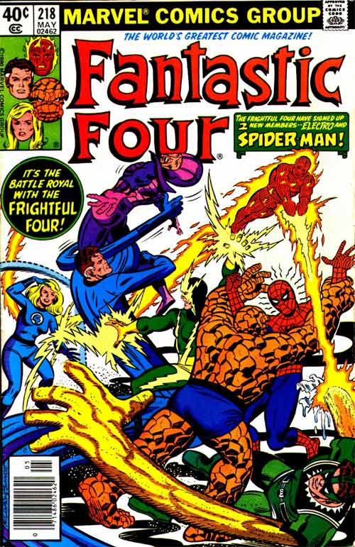 Fantastic Four 218 - When a Spider-Man Comes Calling!