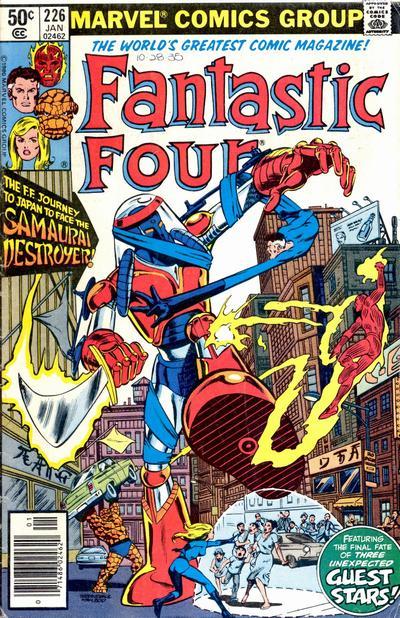 Fantastic Four 226 - The Samurai Destroyer