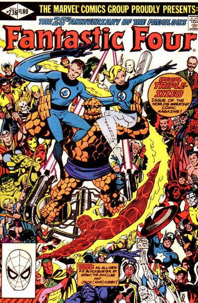 Fantastic Four 236 - Terror In A Tiny Town